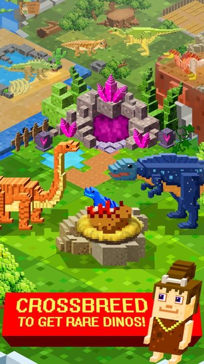 Jurassic Pixel Craft : Block dinosaur world games screenshot-4