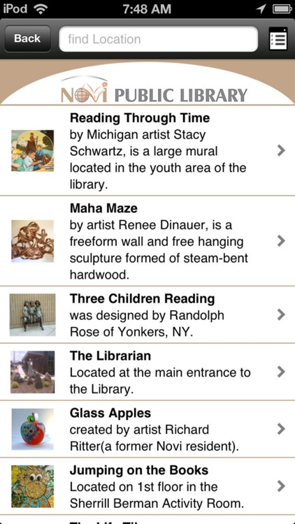 Novi Public Library Mobile screenshot-2