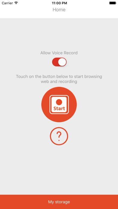 Web Recorder Pro screenshot one
