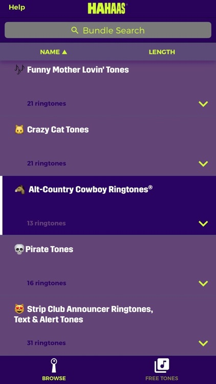 World's Dirtiest® Ringtones, Text Tones & Alerts screenshot-2