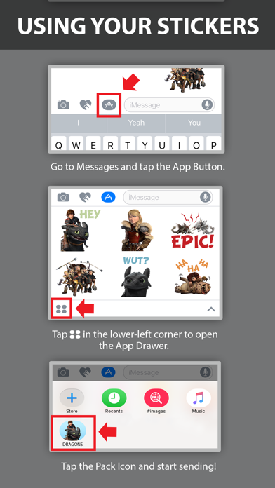 How To Train Your Dragon Stickers screenshot 5