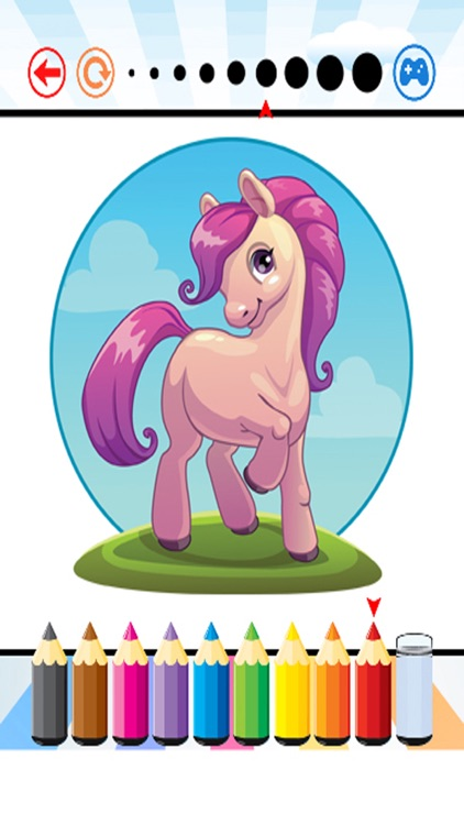 Pony Art Coloring Book - Activities for Kids