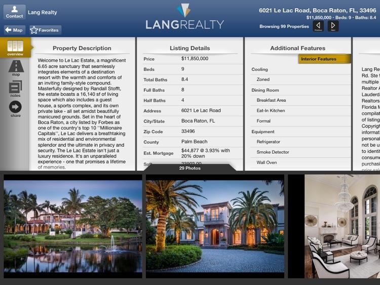 Lang Realty for iPad screenshot-3