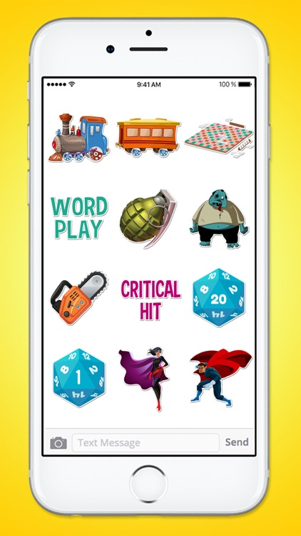 Table Top Board Games BIG 140 Sticker Pack screenshot-3