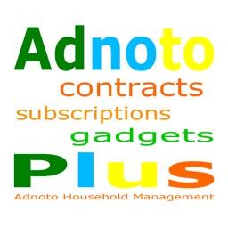 Adnoto Plus Household Financial Management