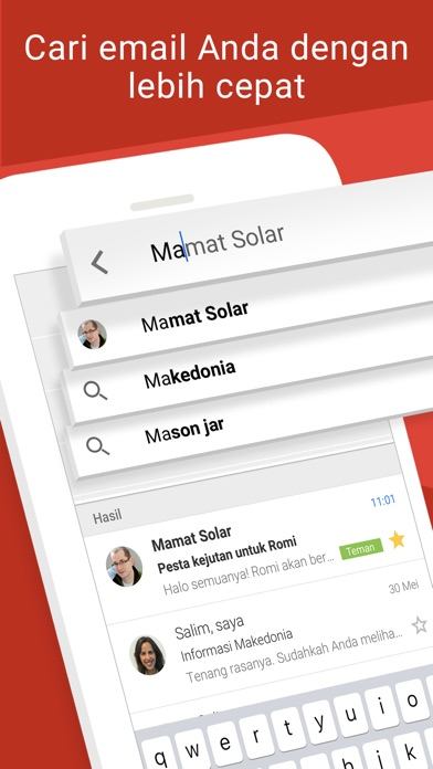 Screenshot for Gmail - Email oleh Google in Indonesia App Store