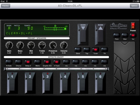 Screenshot #6 pour StompBox