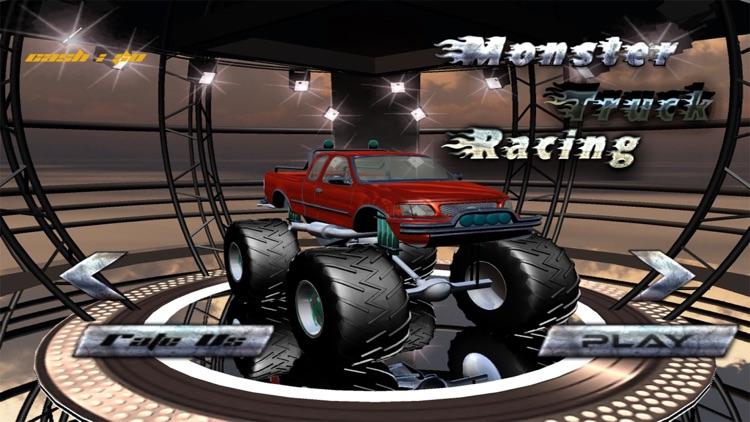 3d Monster Truck Race 2017 screenshot-4
