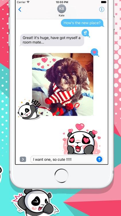 The CHiCHi Panda Sticker Pack by Cute Panda Town screenshot-4