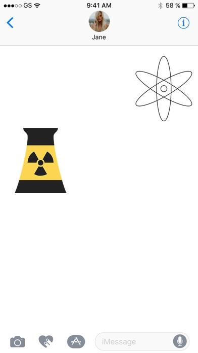原子貼紙包屏幕截圖2
