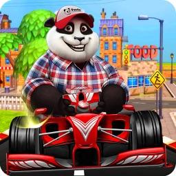 Panda racing