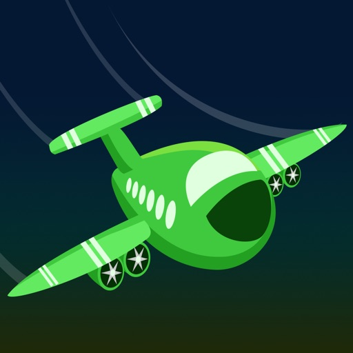 Clear the Airplane Lane - cool flight racing icon
