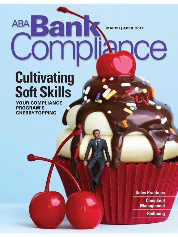 ABA Bank Compliance magazine-ipad-0