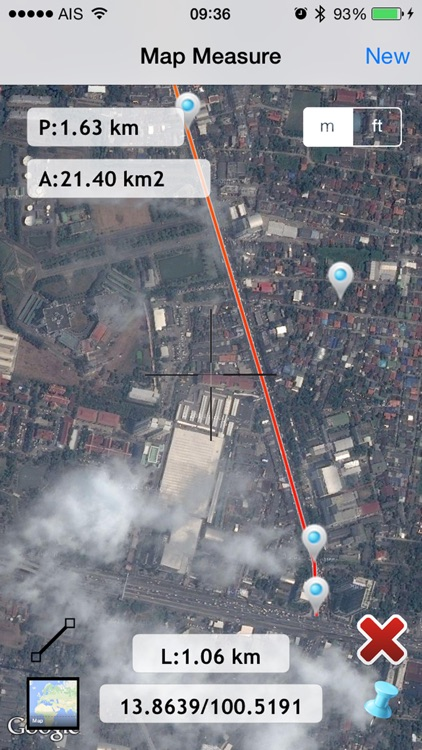map measure planimeter : land area and distance screenshot-3