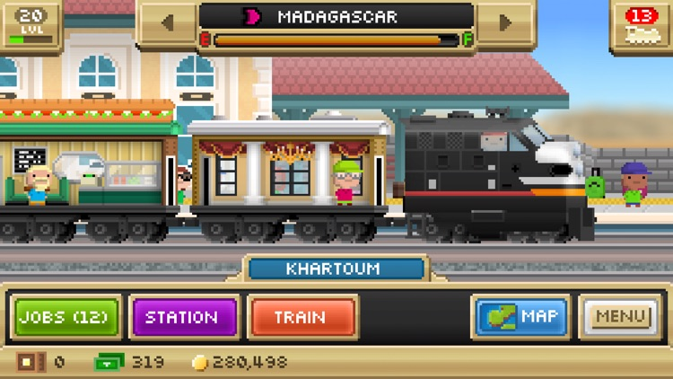 Pocket Trains - Railroad Empire Building screenshot-4