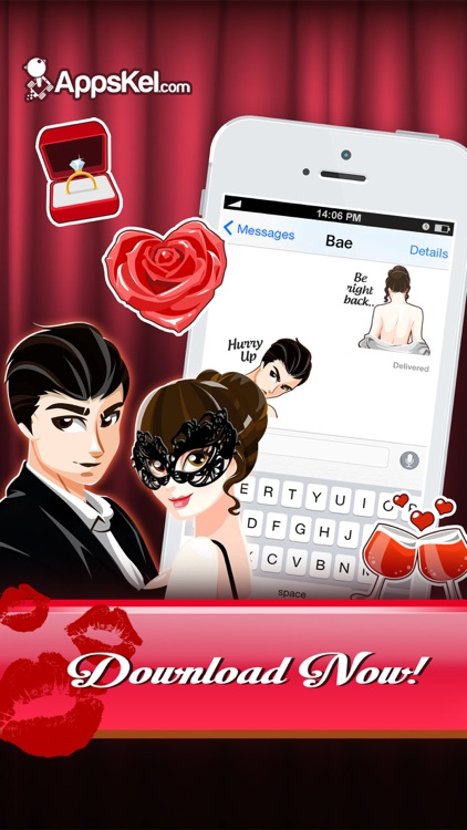 A Darker Love Emoji - Sexy Sticker App for Adults screenshot-3