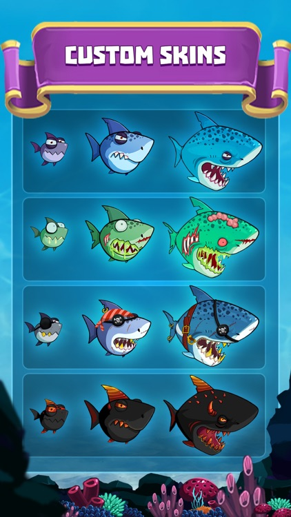 EatMe.io:  Hungry Fish Attack! screenshot-3