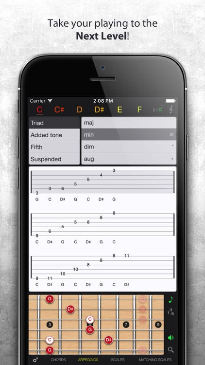 Guitar Gravitas - Guitar Chords and Scales screenshot-3