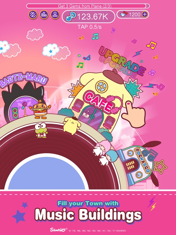 iPad Image of Hello Kitty Music Party - Kawaii and Cute!