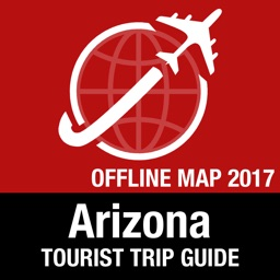 Arizona Tourist Guide + Offline Map