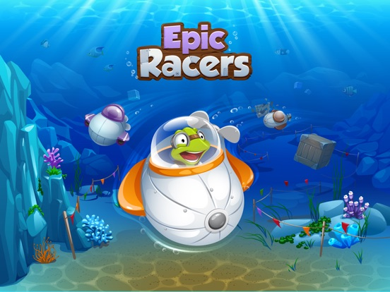 Epic Racers на iPad