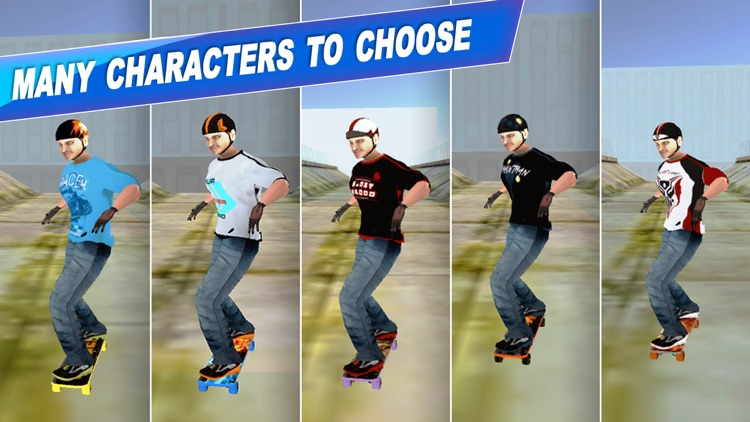 Skateboard Games Simulator 2017: Flip Stunt Master screenshot-4