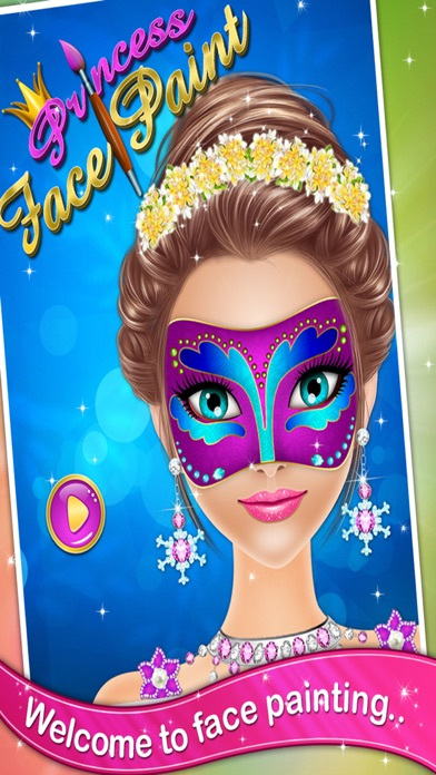 Princess Face Paint - Girls games for kids