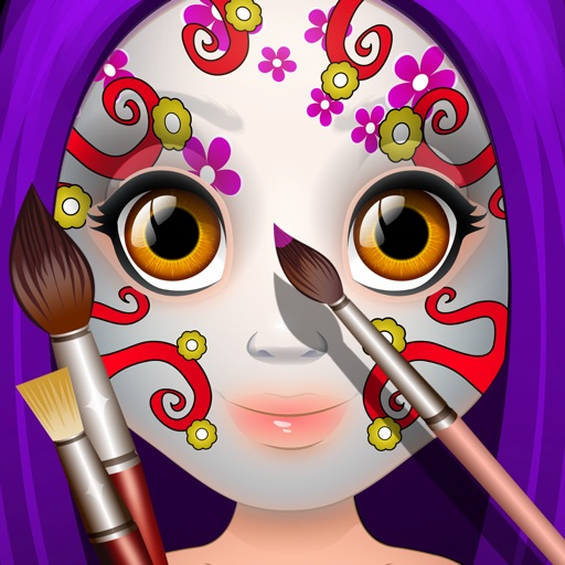 Kids Face Paint - Makeup & Spa Girls Salon Games