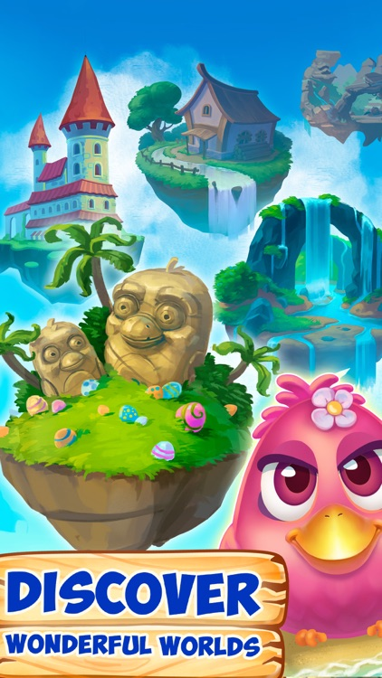 Bubble Birds 4: Match 3 Puzzle Shooter Game