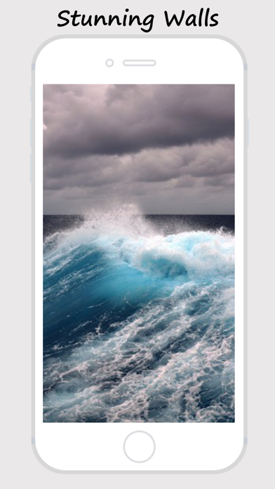 Waves Wallz - Collection Of Ocean Waves Wallpapers screenshot four