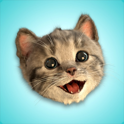Little Kitten Stickers icon