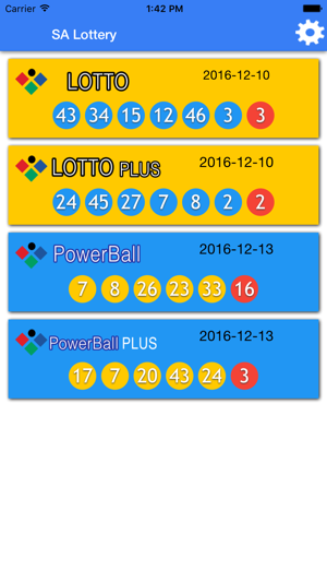 SA Lotto results check notify on the App Store
