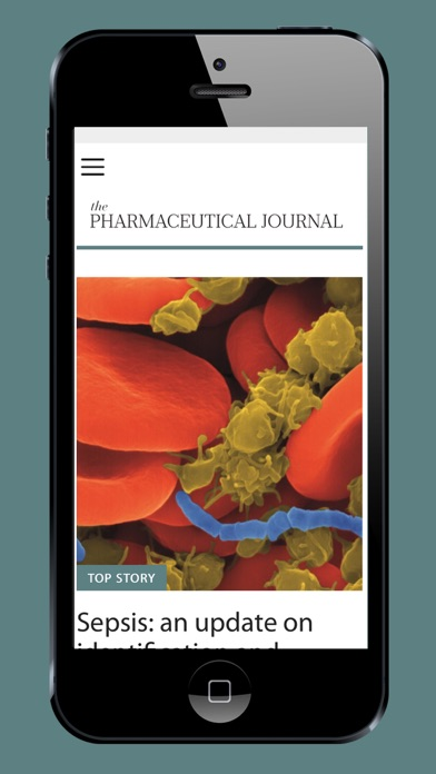 Pharmaceutical Journal screenshot one