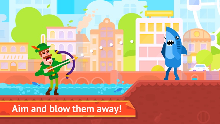 Bowmasters - Top Multiplayer Bowman Archery Game app image