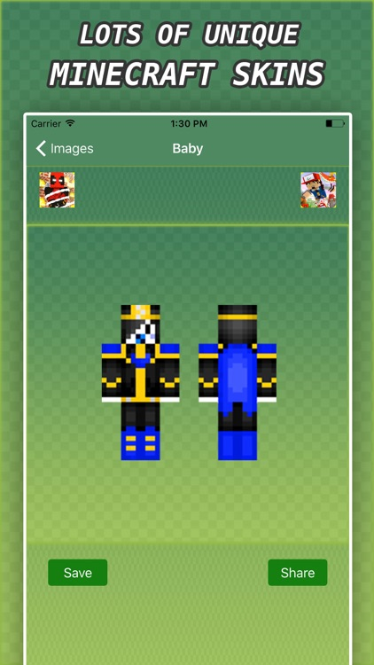 New BABY SKINS FREE For Minecraft PE Pocket & PC screenshot-3