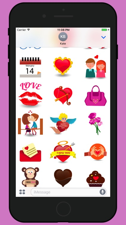Valentine week love stickers 2017 screenshot-1