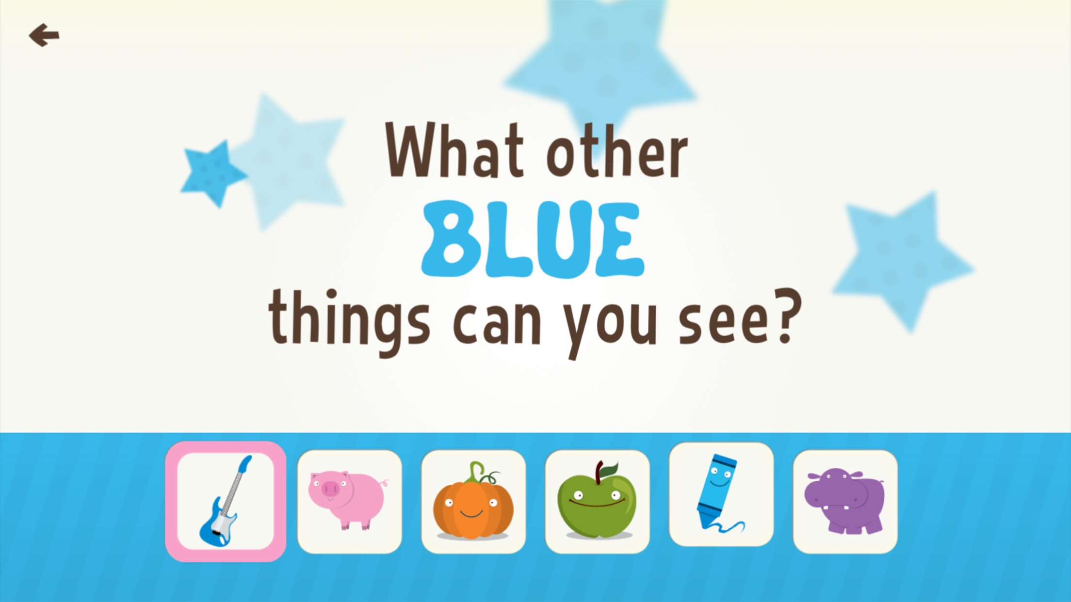 Toddler Learning Games Ask Me Colors Games Free Screenshot