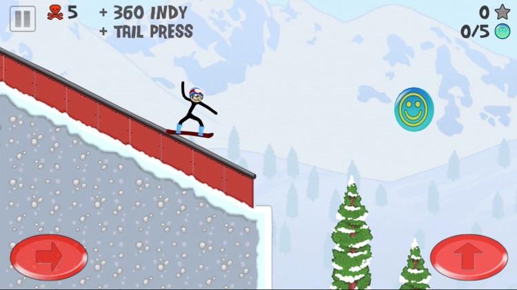 Stickman Snowboarder™