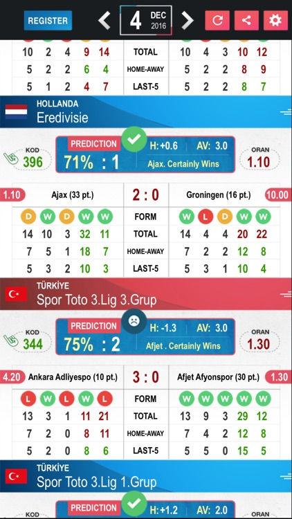 Tips Betting Predictions Results - Football PE screenshot-3