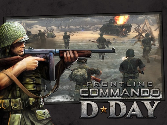Frontline Commando: Normandy на iPad