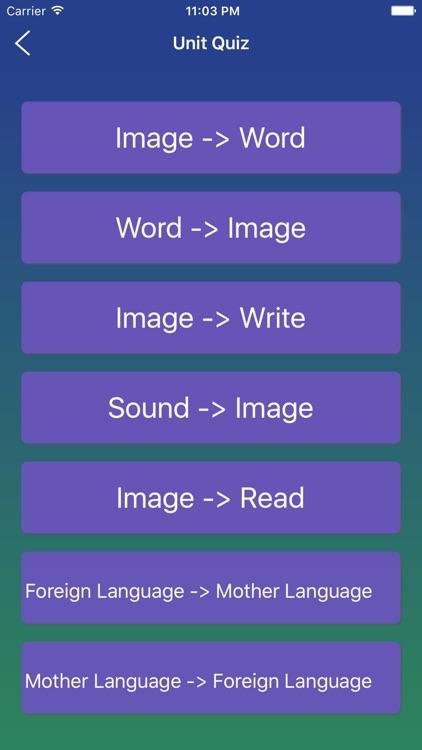 Italian Word - Learn Italian Language Vocabulary screenshot-4