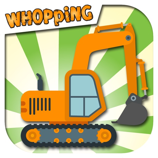 Diggers, Whopping Diggers! - Machine fun for kids
