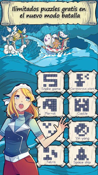 Puzzle Cross PiratesCaptura de pantalla de5