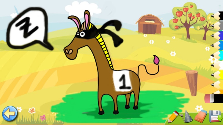 The Farm - Paint & Animal Sounds Games for Toddler screenshot-3