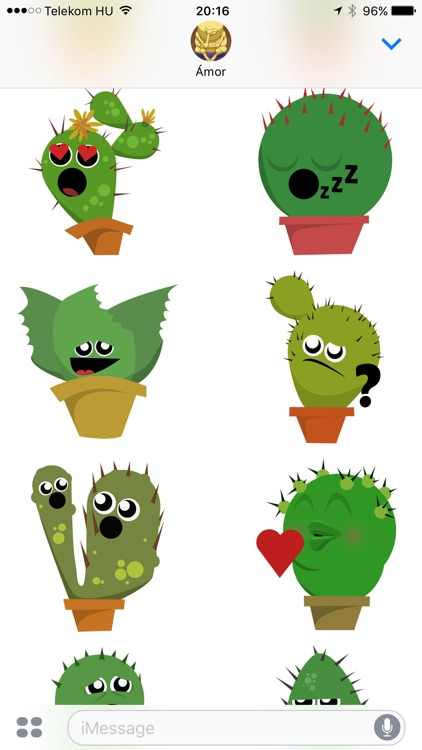 Lively Cactus Party the Summer Sticker Pack screenshot-3