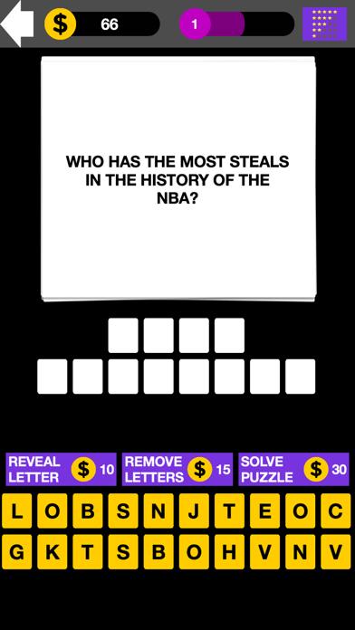 Q&A NBA Basketball Quiz Maestro screenshot four