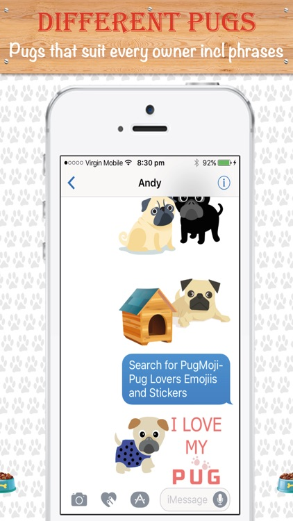 PugMoji - Pug Lovers Emojis and Stickers! screenshot-2