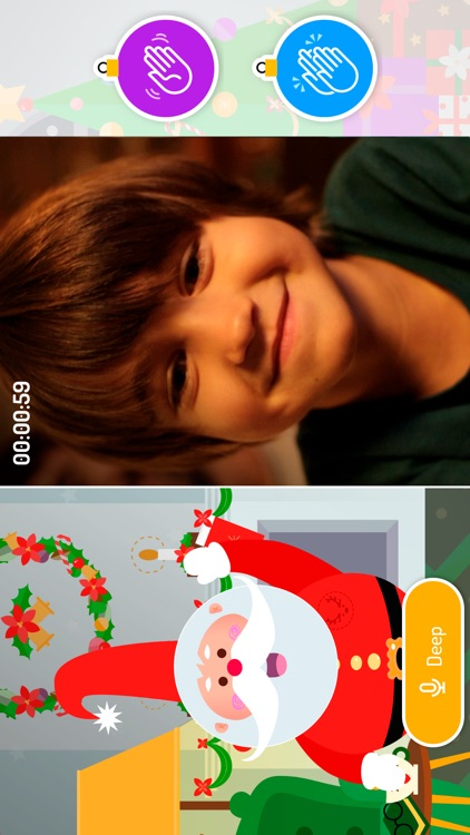 XmasTime - Video calls to your own family Santa