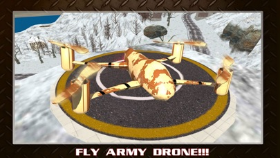 US Army Drone Strike Air Combat: Flight Simulator screenshot one