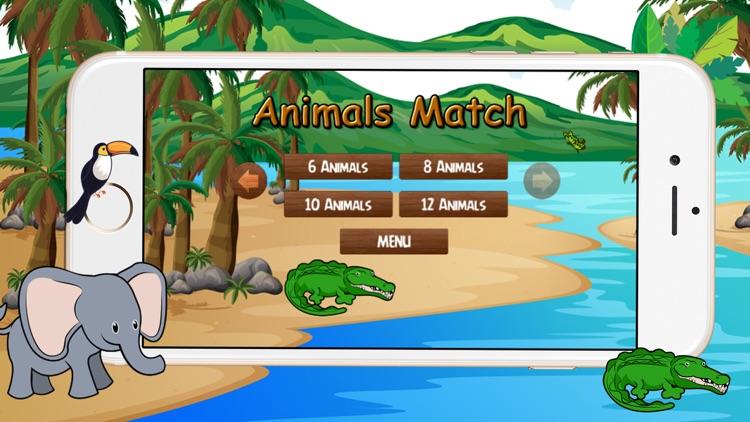Kids Animals Matching Game
